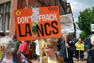 Anti-fracking protests, Lancashire