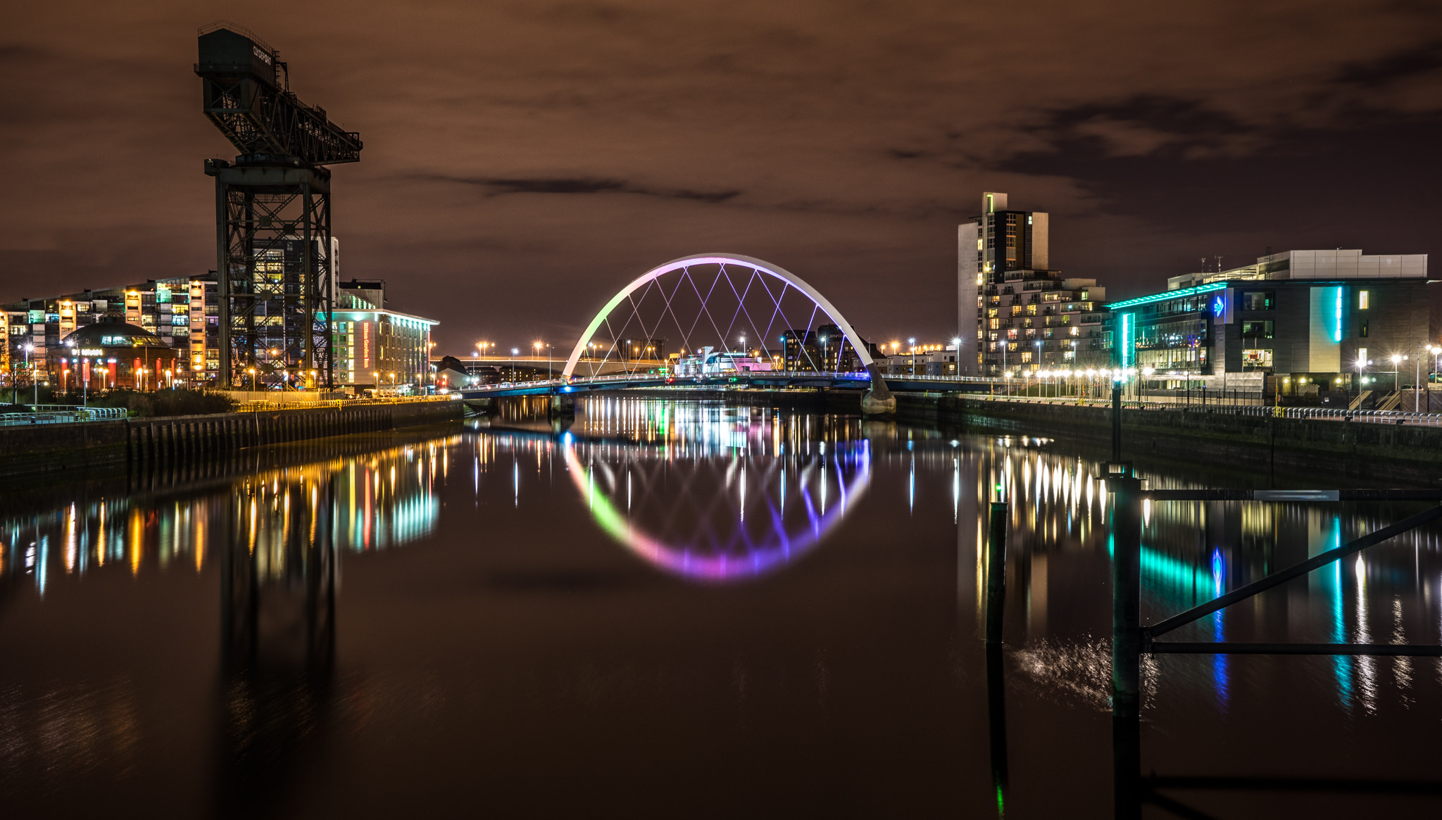 Glasgow skyline by Giuseppe Milo, Flickr (Creative Commons)