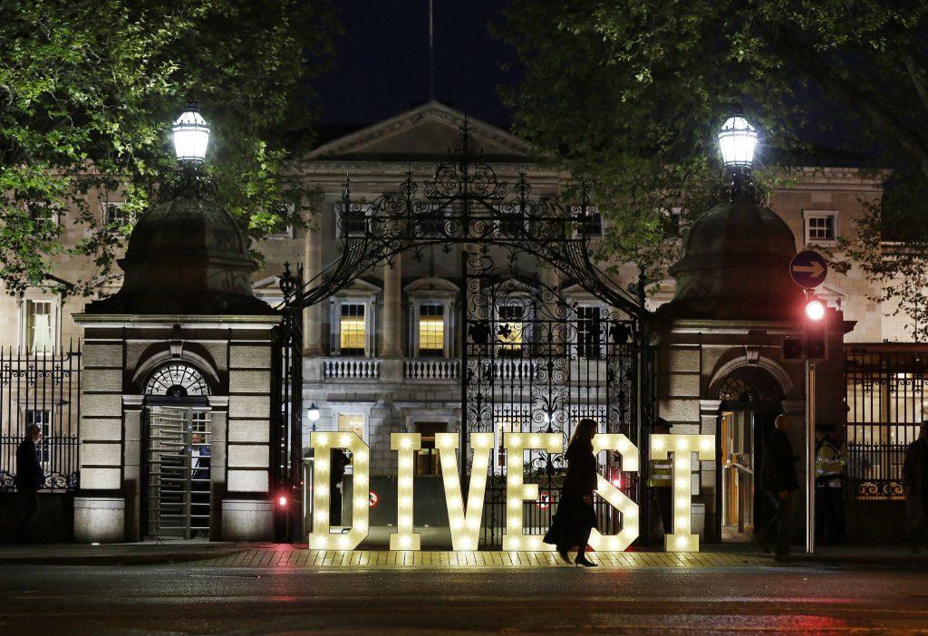 Photo of Irish Parliament.