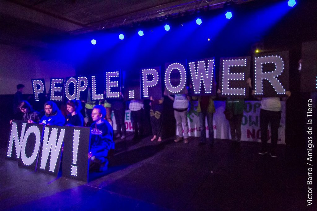 Stage People Power Assembly, Paris 2015