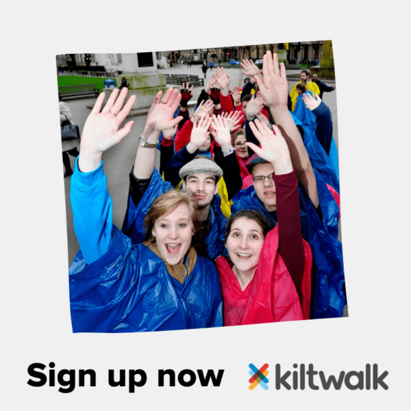Kiltwalk Sign up now