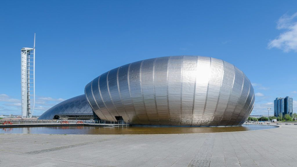 Glasgow Science Centre and Tower. Credit: Florian Fuchs / CC BY 3.0